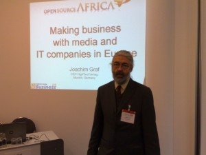 Presentation of Open Source Africa